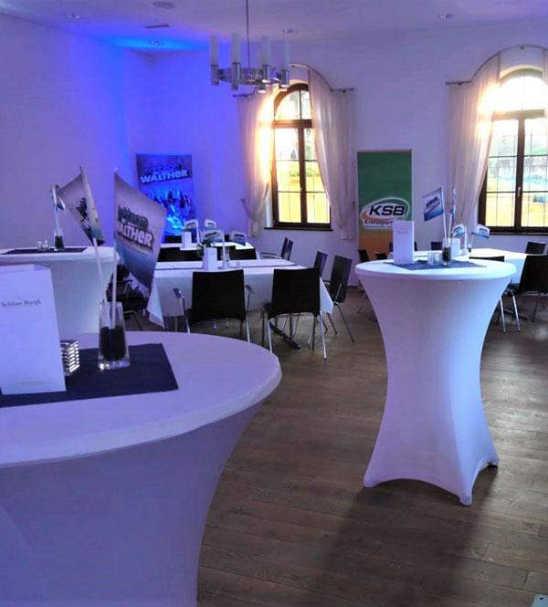 Schloss Burgk Freital Firmenveranstaltung Location