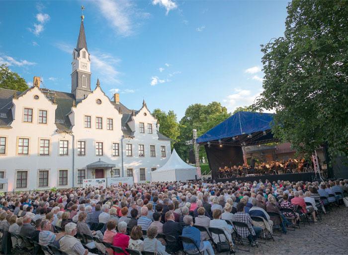 Schloss Burgk Freital Open Air Schlosskonzert