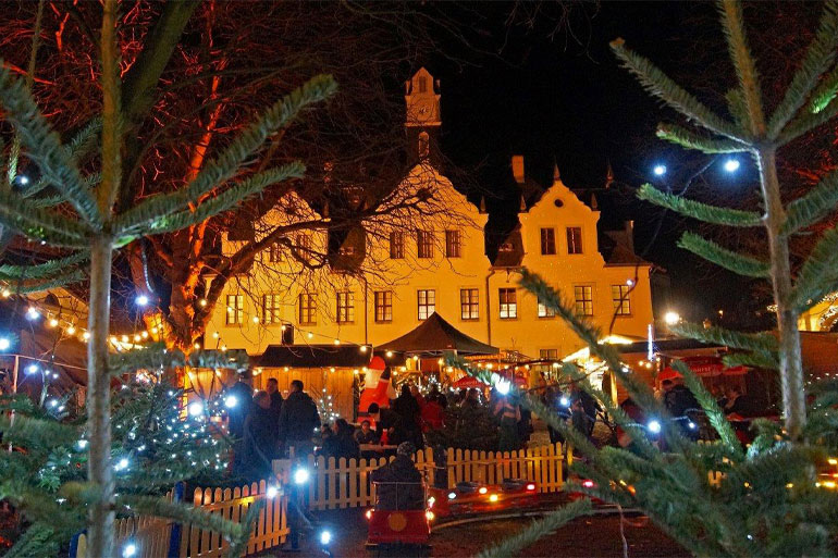 Schloss Burgk Freital Schlossadvent Weihnachtsmarkt